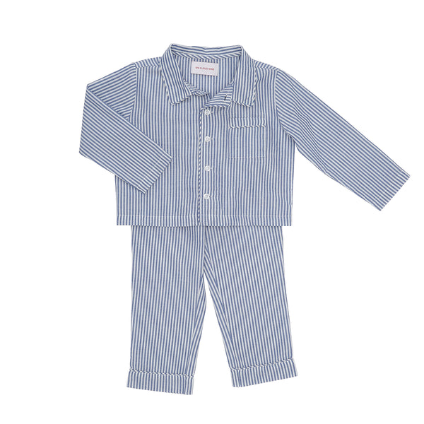 PYJAMAS // KIDS // BLUE & WHITE STRIPE
