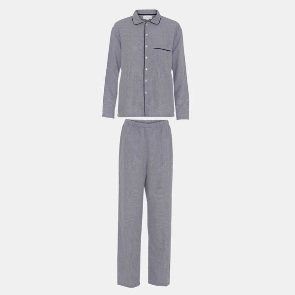 PYJAMAS // WOMEN // BLUE & WHITE SMALL CHECKS