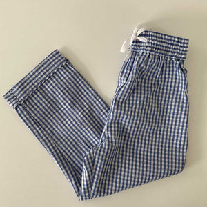 PYJAMAS PANTS // KIDS // BLUE CHECK