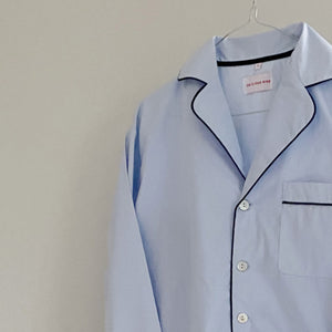 MEL PYJAMAS SET // WOMEN // LIGHT BLUE COTTON POPLIN