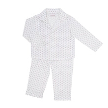 PYJAMAS SET // KIDS // BLUE & RED DOT PRINT