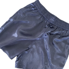 100% SILK SHORTS // WOMEN // NAVY BLUE