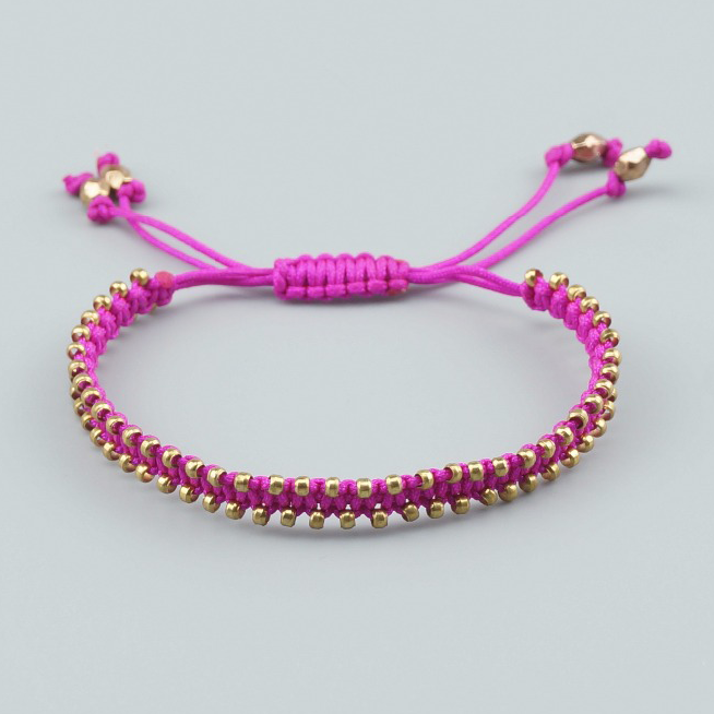 Girls Bohemian Friendship Bracelet in 12 colors