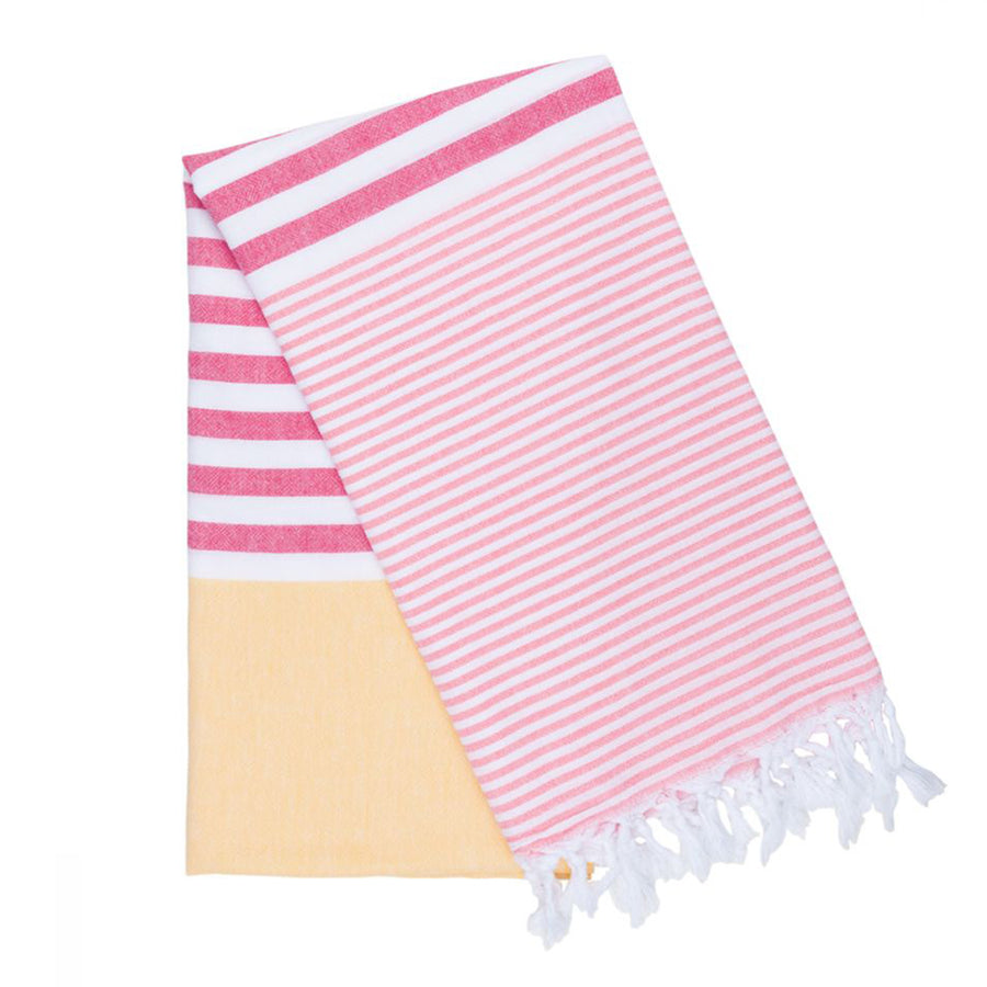 Beach blanket and bath towel pestemal fouta
