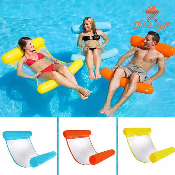 Hamac Gonflable Lit gonflable pour piscine - OhlalaGift.com