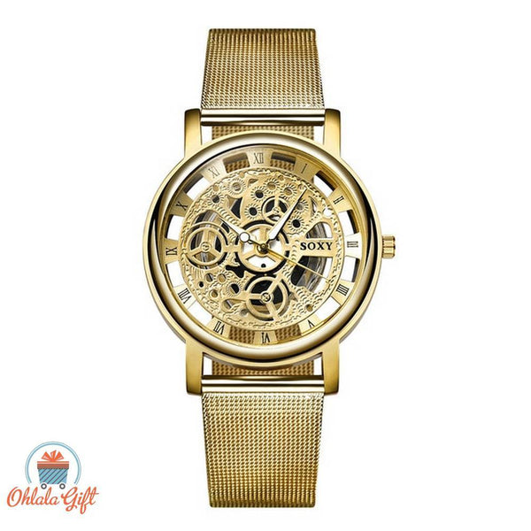 Montre Squelette Homme Femme Luxe - OhlalaGift.com