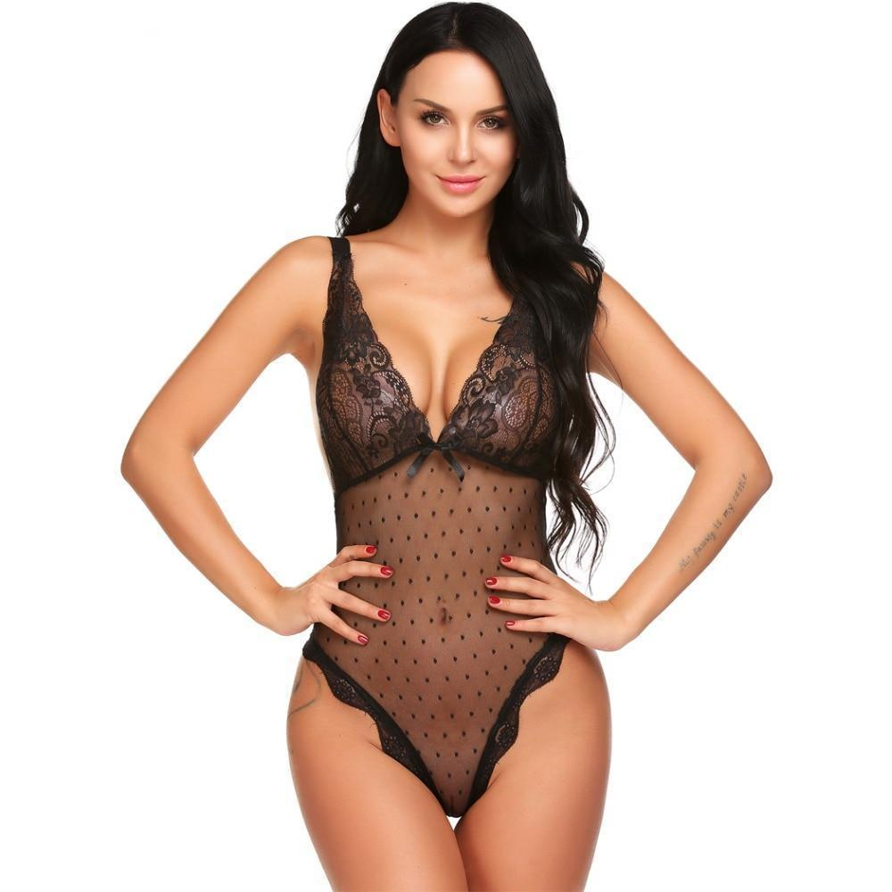 Body femme sexy dentelle - OhlalaGift.com