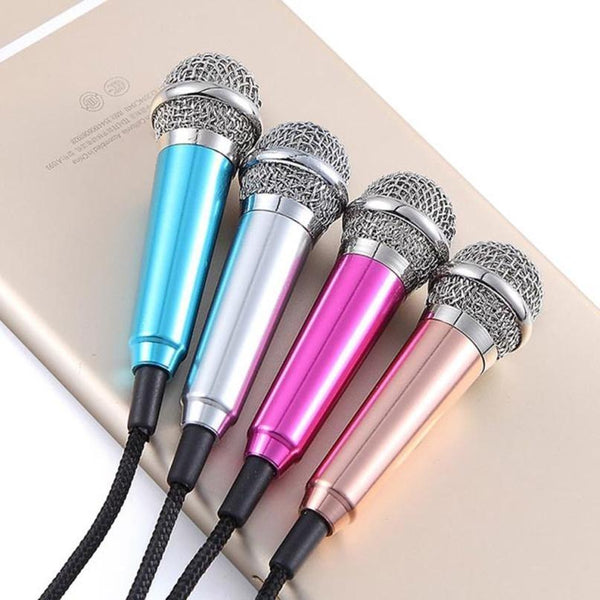 Mini microphone karaoke pour smartphone - OhlalaGift.com