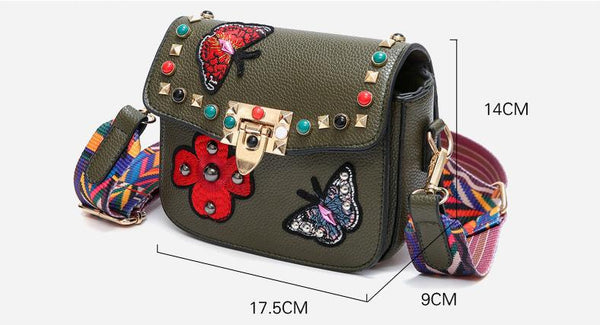 Sac Papillon broderie - OhlalaGift.com