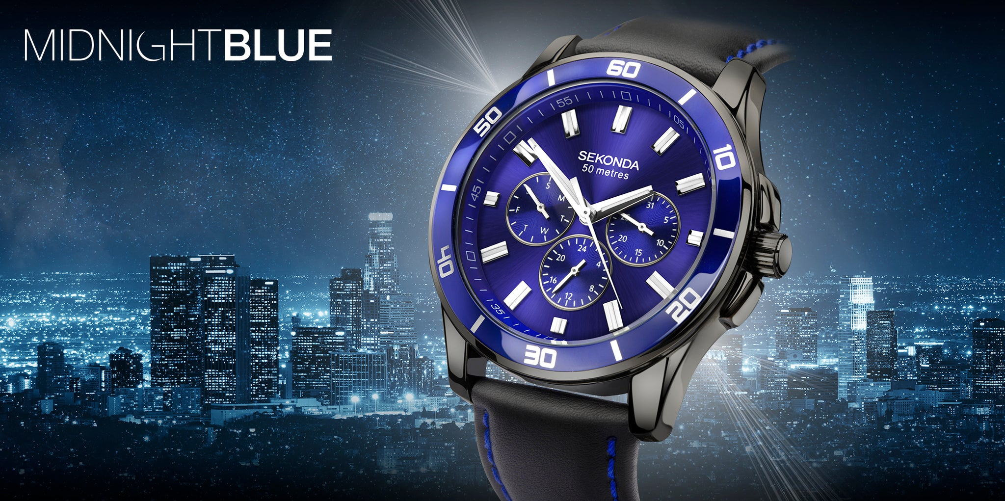 Sekonda Midnight Blue 1634