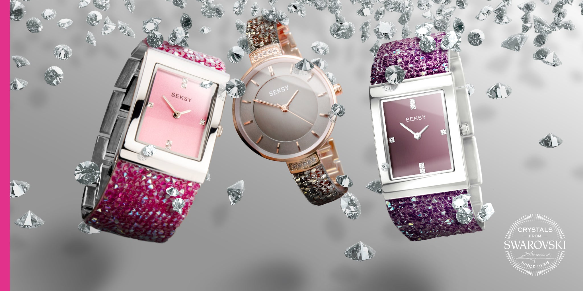 Seksy ladies watches Mother's Day 22 March