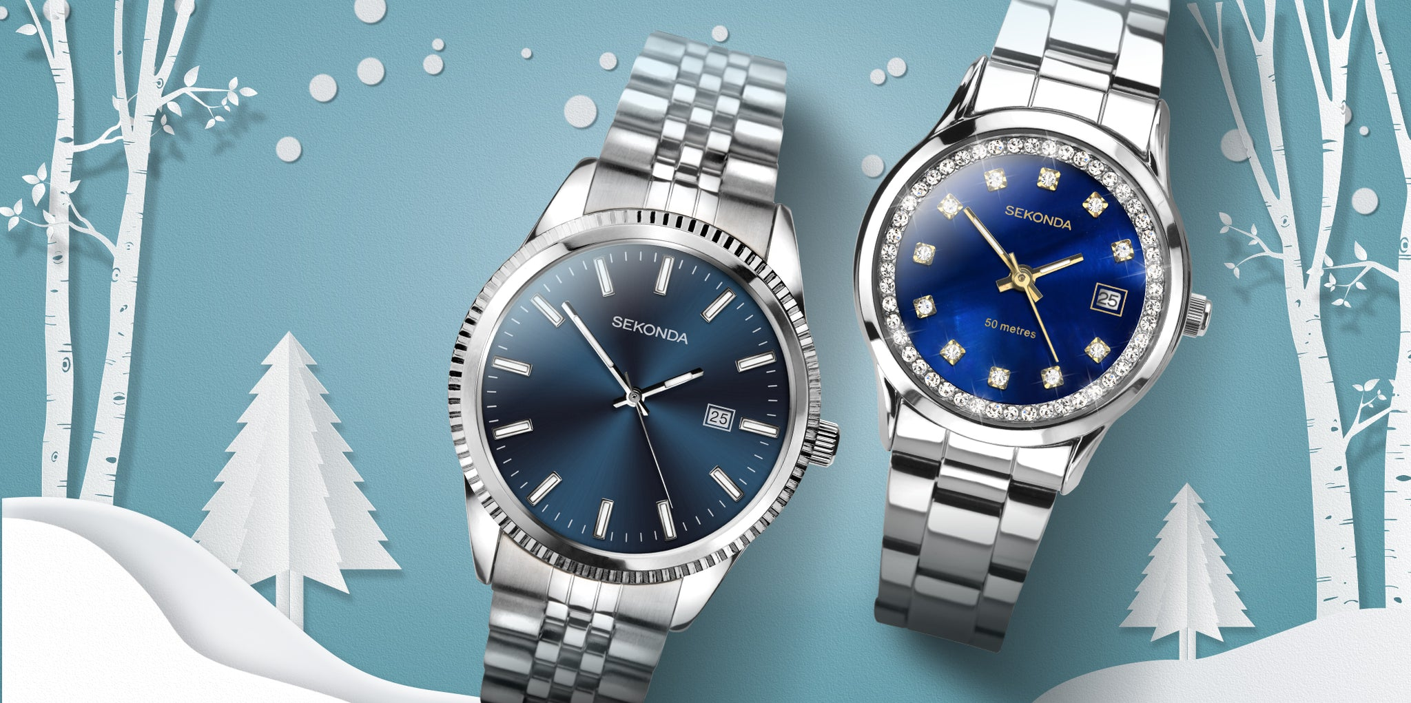 Sekonda Christmas gifts from £39.99