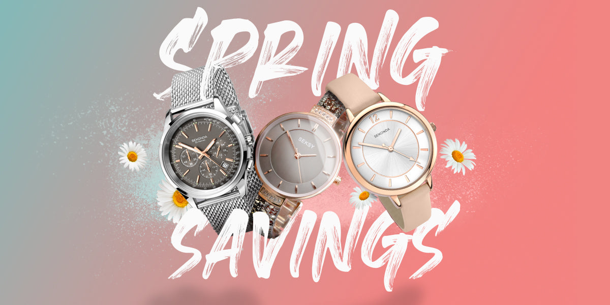 Spring Savings on Sekonda and Seksy Watches