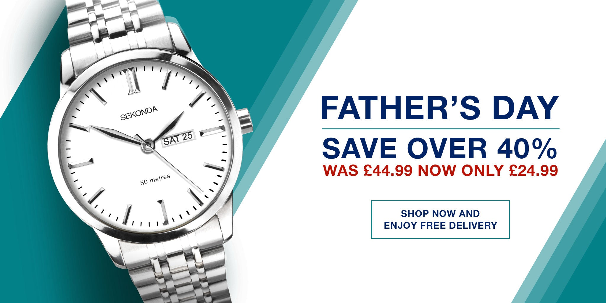 Sekonda Gents Watches Father's Day 21 June
