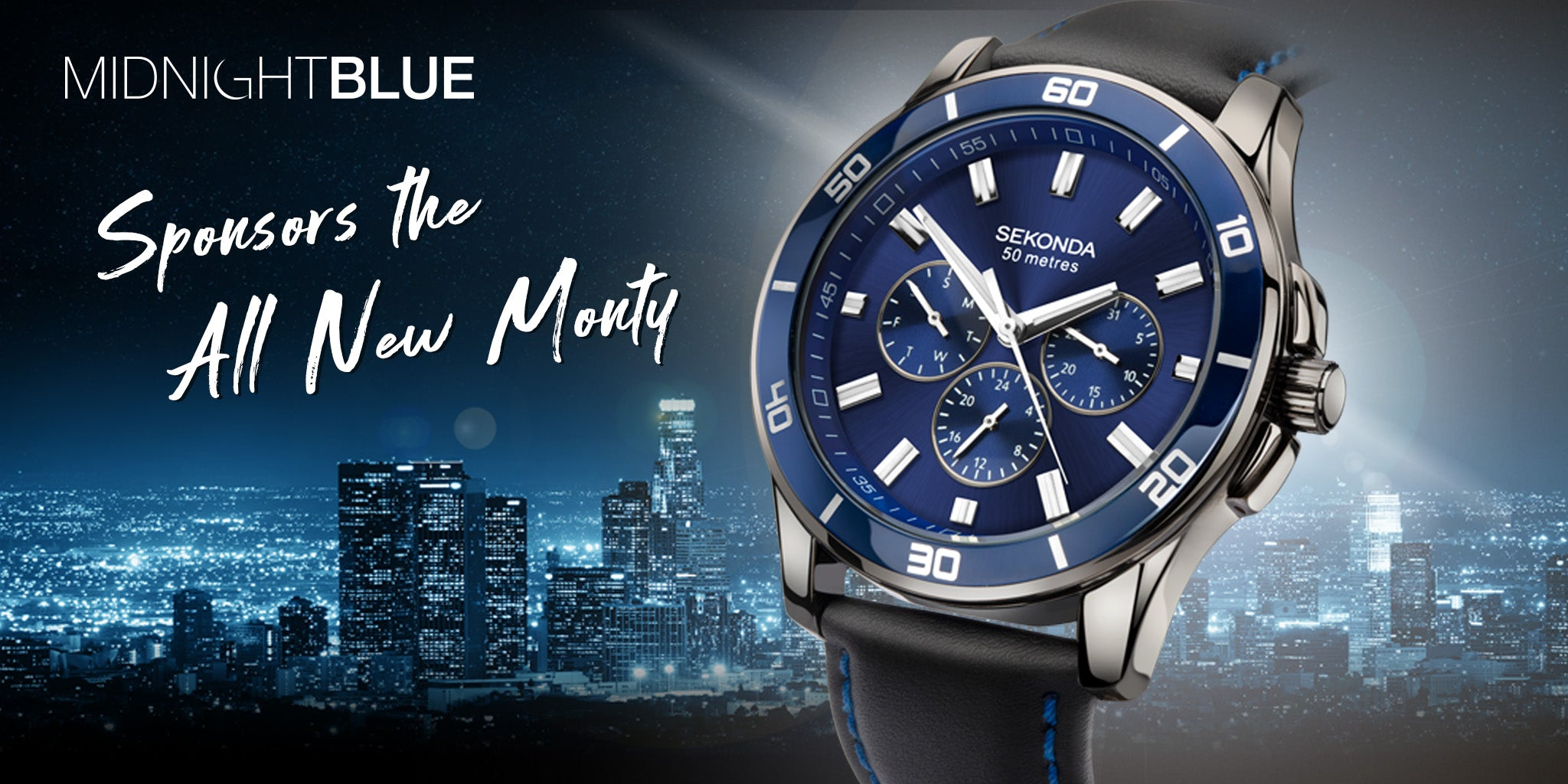 The All New Monty sponsored by Sekonda Midnight Blue 1634