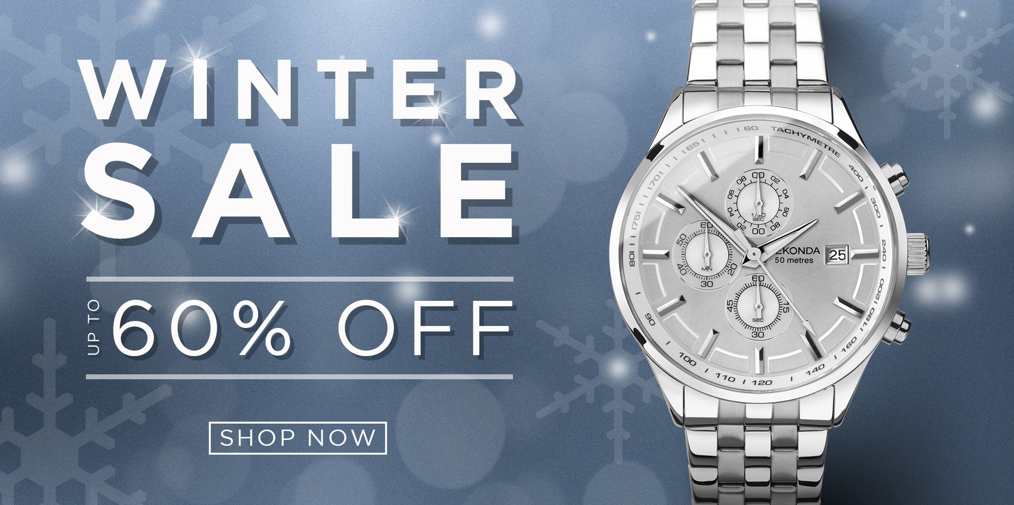 Sekonda Watches Winter Sale up to 60% off