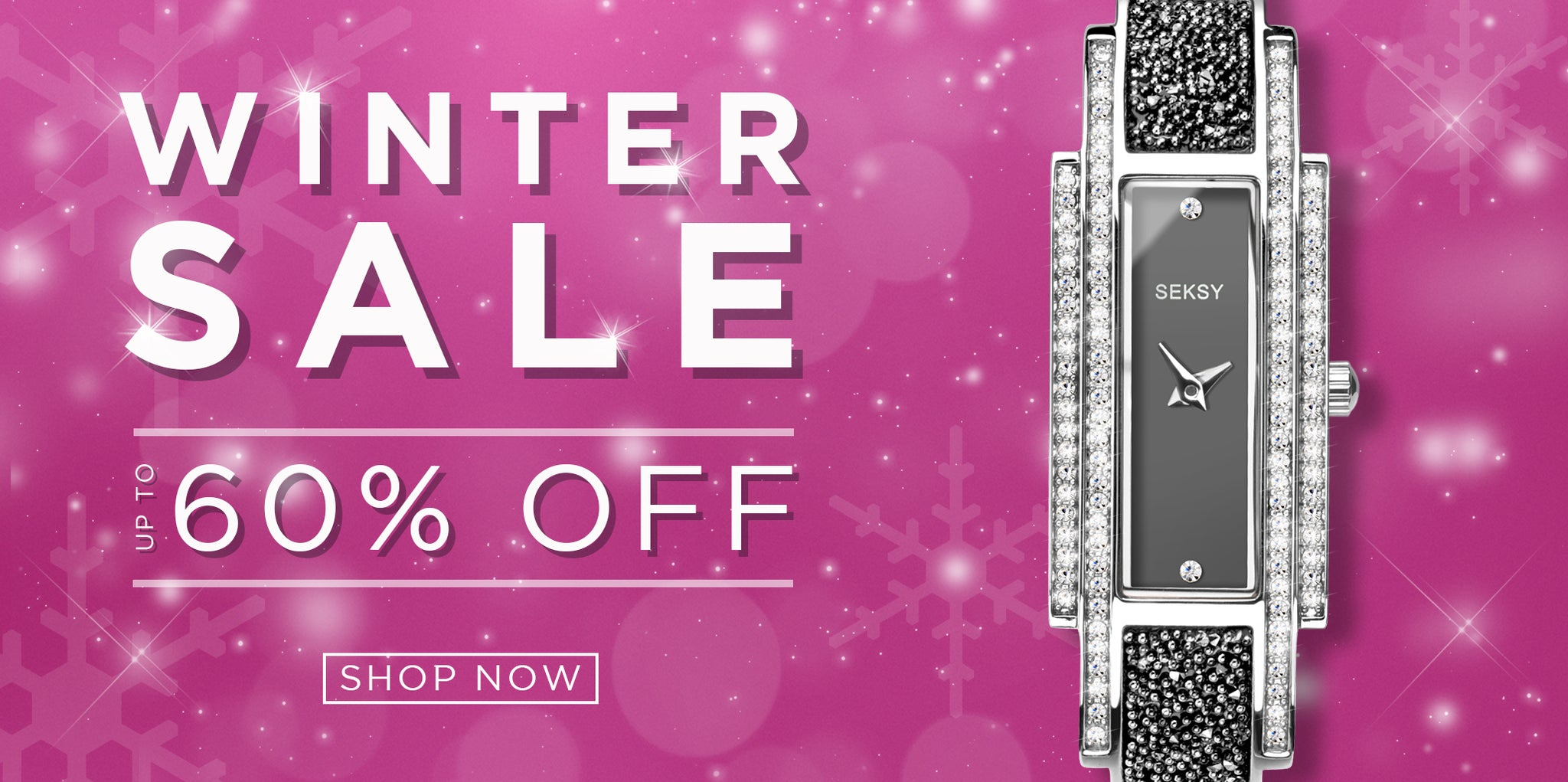 Seksy Watches Winter Sale up to 60% off