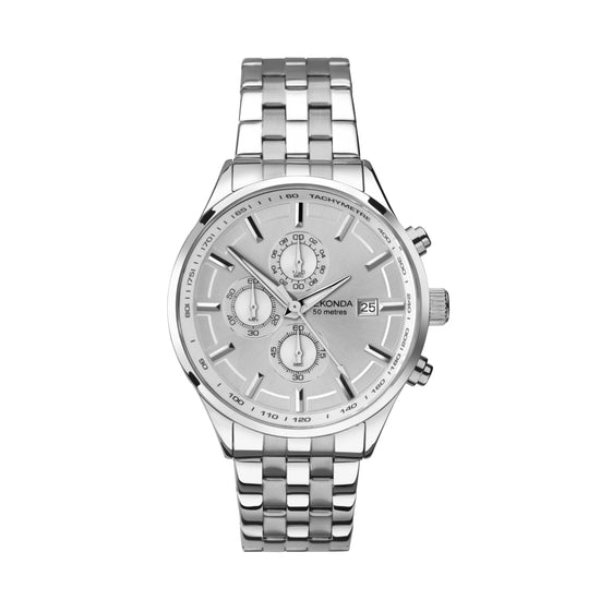Sekonda Men's Stainless Steel Chronograph Watch