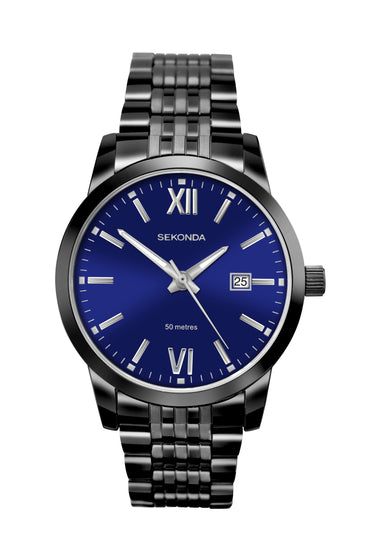Sekonda Men's Blue Dial Bracelet Watch