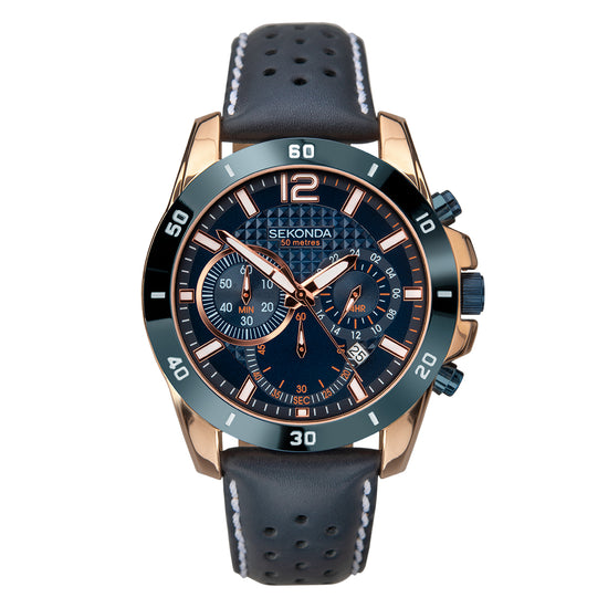 Sekonda gents 1489 chronograph watch