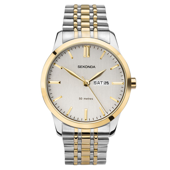 Sekonda Men's Classic Two-Tone Bracelet Watch