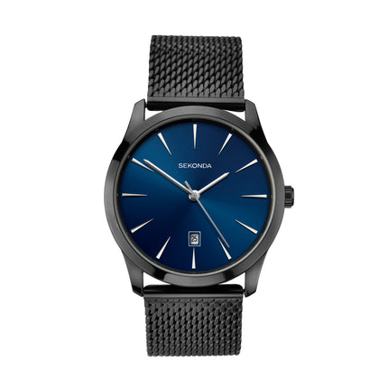 Sekonda Men's Black Milanese Bracelet Watch