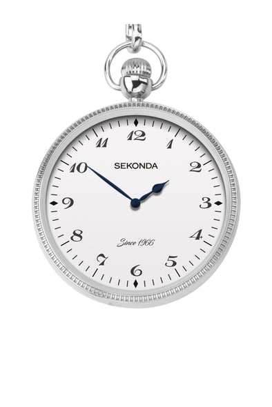Sekonda Men's Silver Coloured Pocket Watch