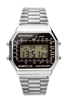 Sekonda Men's Digital Display Bracelet Watch