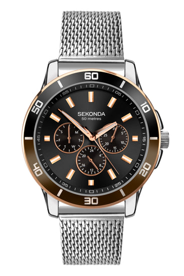 Sekonda Men's Multifunction Milanese Bracelet Watch