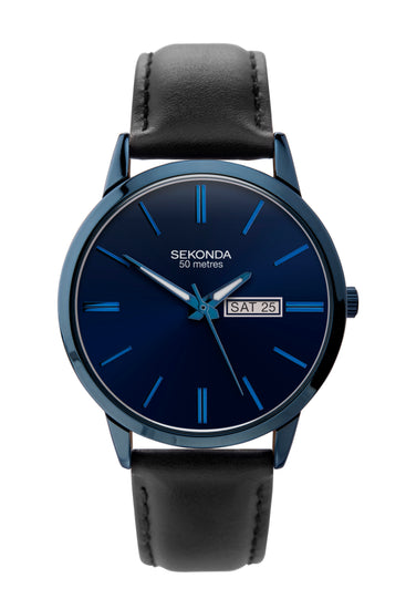 Sekonda Men's Classic Blue Dial Watch