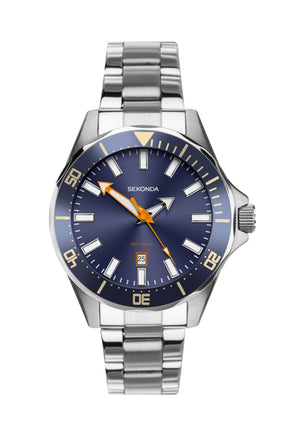 Sekonda Men's Bracelet Diving Watch