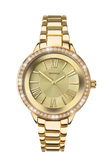 Sekonda Editions Women's Gold Plated Bracelet Watch