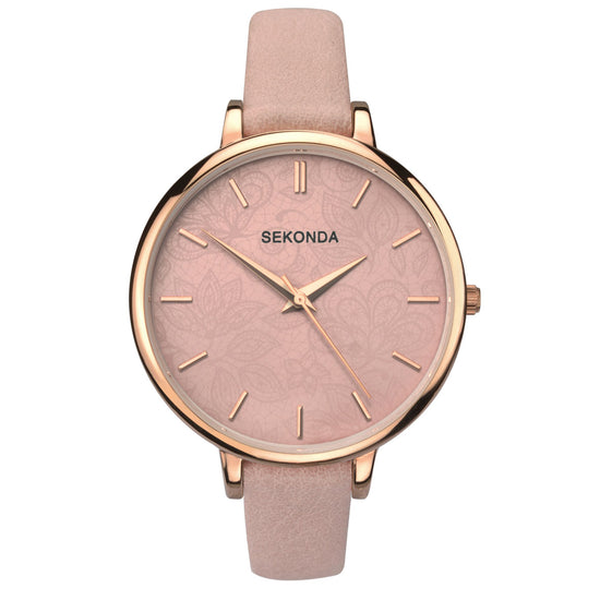 Sekonda Editions Women's Fashion Watch (Pink) 2563 Front View