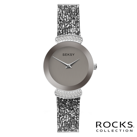 519f31f06da9 Seksy Rocks® Stone Set Bracelet Watch