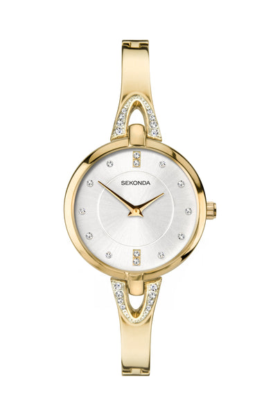 Sekonda Women's Gold Plated Bracelet Dress Watch