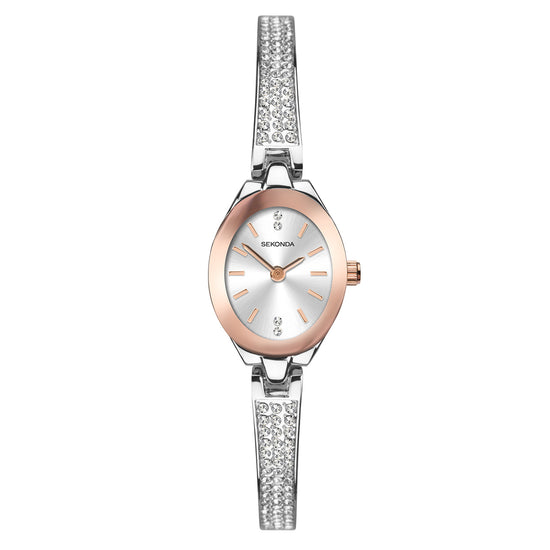Sekonda Women's Stone Set Bracelet Dress Watch