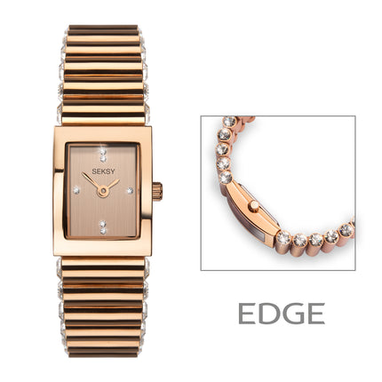 Seksy Edge 2868 ladies fashion watch