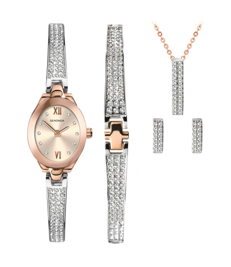 Sekonda 2924G womens watch gift set