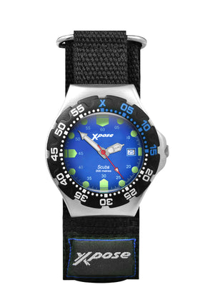 Sekonda Men's Xpose Scuba Diving Blue Dial Strap Watch