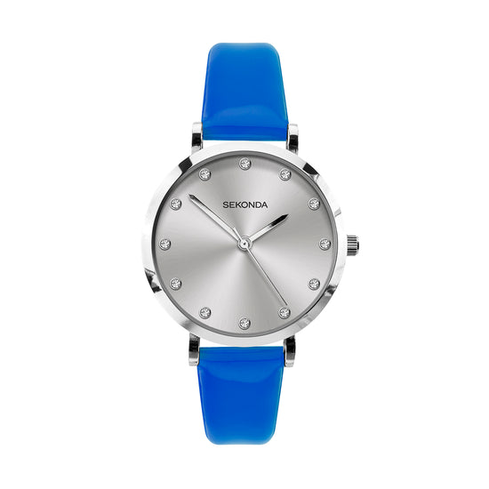 Sekonda Editions Women's Neon Blue Strap Watch