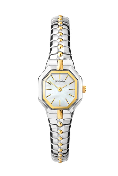 Sekonda Women's Two-Tone Expander Bracelet Watch