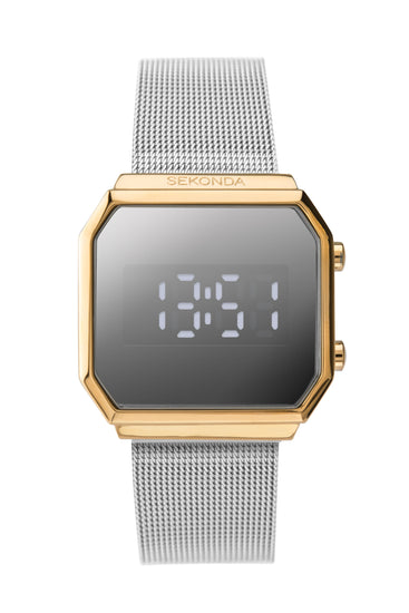 Sekonda Editions Women's Gold Plated Digital Watch