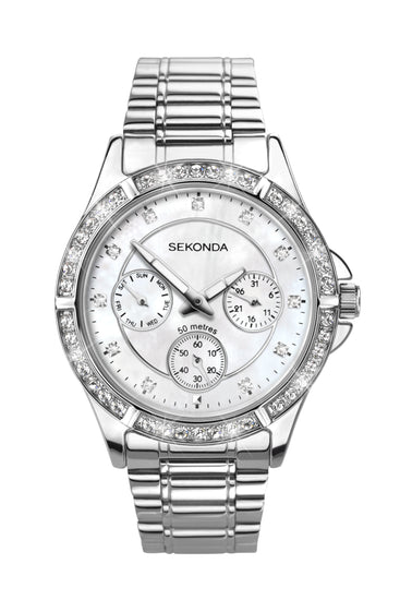 Sekonda Women's Stone Set Bracelet Watch