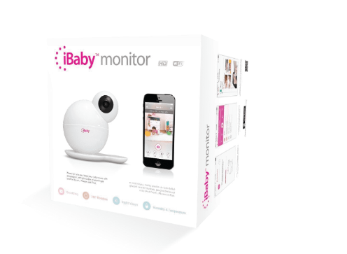 iBaby M6T Wireless Indoor Monitor 360 Degree Rotation App HD Wi-Fi - A