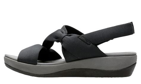 CLOUDSTEPPERS by Clarks Sport Sandals Arla Primrose Black - A