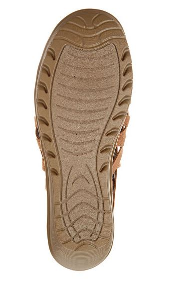 Skechers Peep-Toe Caged Wedges Dream Queen Tan - NEW