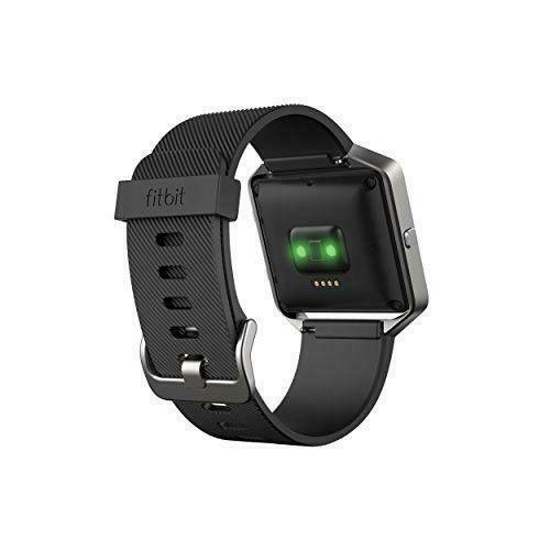 Fitbit Blaze Smart Fitness Tracker with Large Black Band FB502SBKL - C