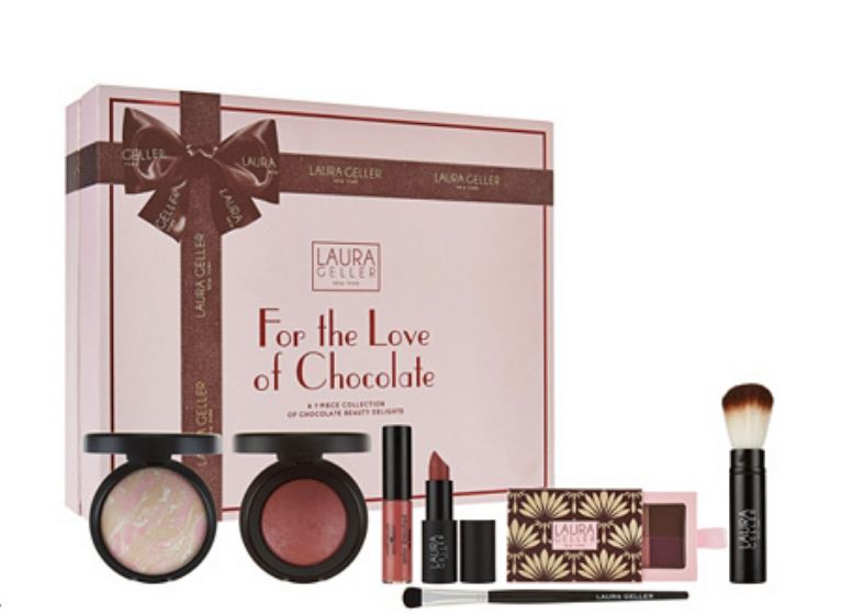 Laura Geller For the Love of Chocolate 7-piece Collection - NEW