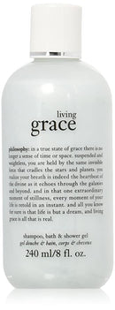 Philosophy Living Grace Shampoo, Bath & Shower Gel 8 oz. - NEW