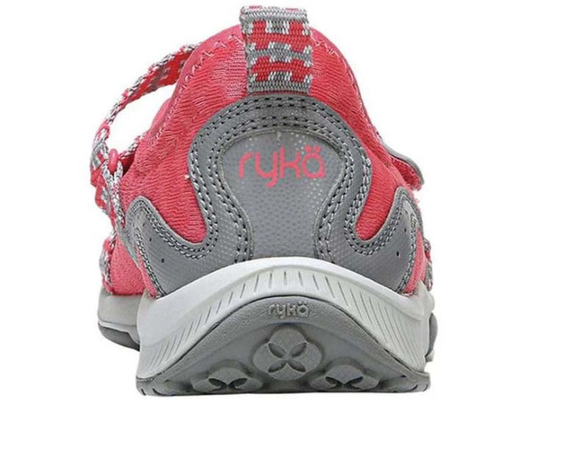 Ryka Adjustable Mesh Mary Jane Sneakers Kailee Coral - NEW
